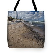 Crisp Point Lighthouse 14 Tote Bag
