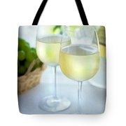 Crisp Whites Tote Bag