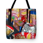 Crisps And Drinks Tote Bag