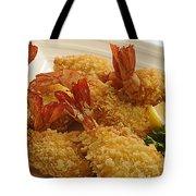 Crispy Fried Prawns Tote Bag