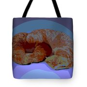 Croissants In Love Tote Bag