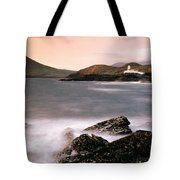 Cromwell Point Lighthouse, Valentia Tote Bag
