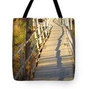 Crooked Bridge Tote Bag