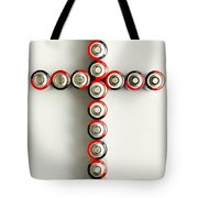 Cross Batteries 1 A Tote Bag