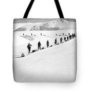 Cross Country Skiing Tote Bag