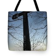Cross Tote Bag by Matthias Hauser