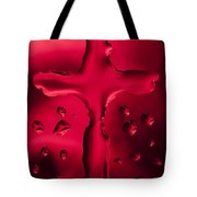 Cross Red Syrup 1 C Tote Bag