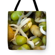 Cross Section Of Some Healthy Sprouts Tote Bag