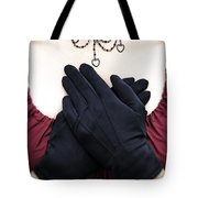 Crossed Hands Tote Bag