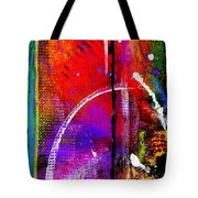 Crossing Over And Back Again Tote Bag