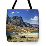 Crossing The Andes Tote Bag