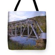 Crossing The Animas In Durango Tote Bag