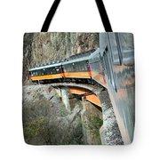 Crossing The Bridge Tote Bag