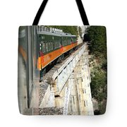 Crossing The Gorge Tote Bag