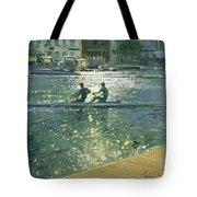 Crossing The Light Break - Henley Tote Bag