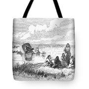 Crossing The Platte, 1859 Tote Bag by Granger