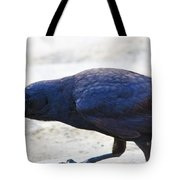 Crow Snacking Tote Bag