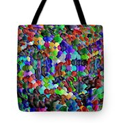 Crowded Quarters Tote Bag