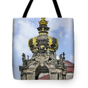 Crown Gate - Kronentor Zwinger Palace Dresden Tote Bag by Christine Till