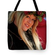 Crowned By Nature Tote Bag