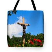 Crucifix In Indian River Tote Bag