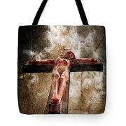 Crucifixion Tote Bag