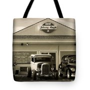 Cruise Night At Johnny Ray's Tote Bag by Dennis Hedberg