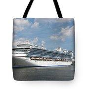 Cruise Ships At Cruiseport Boston Tote Bag