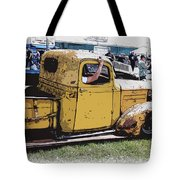 Cruising The Old Chevy Tote Bag by Steve McKinzie