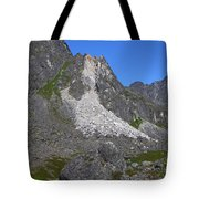 Crumble Mountain Tote Bag