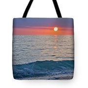 Crystal Blue Waters At Sunset In Treasure Island Florida Tote Bag