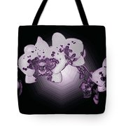 Crystal Butterfly Orchid Tote Bag