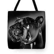 Crystal Cougar Head IIi Tote Bag