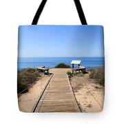 Crystal Cove State Park Ocean Overlook Tote Bag