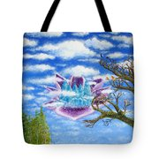 Crystal Hermitage Castle In The Clouds Tote Bag