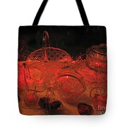 Crystal In Red  Tote Bag