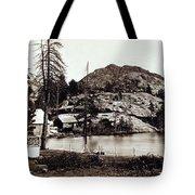 Crystal Lake And Black Butte - California - C 1865 Tote Bag