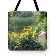 Crystal Lake State Park In Barton Vermont Tote Bag