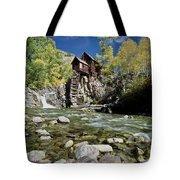 Crystal Mill In Autumn Tote Bag