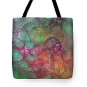 Crystal Ocean Tote Bag