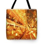 Crystallized - Digital Art Abstract Tote Bag