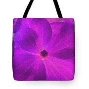 Crystelized Hydrangea Bloom Art Tote Bag