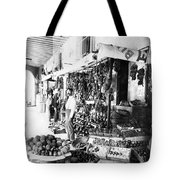 Cuba Fruit Vendor C1910 Tote Bag