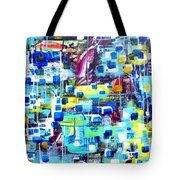 Cubic Animation Tote Bag