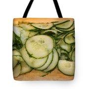 Cucumbers Tote Bag
