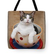 Cup O Tilly 3 Tote Bag by Andee Design