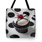 Cupcake With Cherry Tote Bag