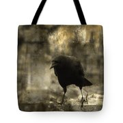 Curiosity Of The Graveyard Crow Tote Bag