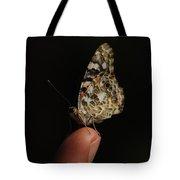 Curious Butterfly Tote Bag
