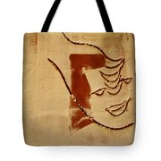 Curiousity - Tile Tote Bag